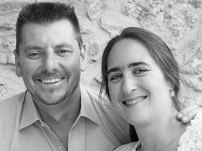 Valérie and Jean-Philippe, Winemakers
