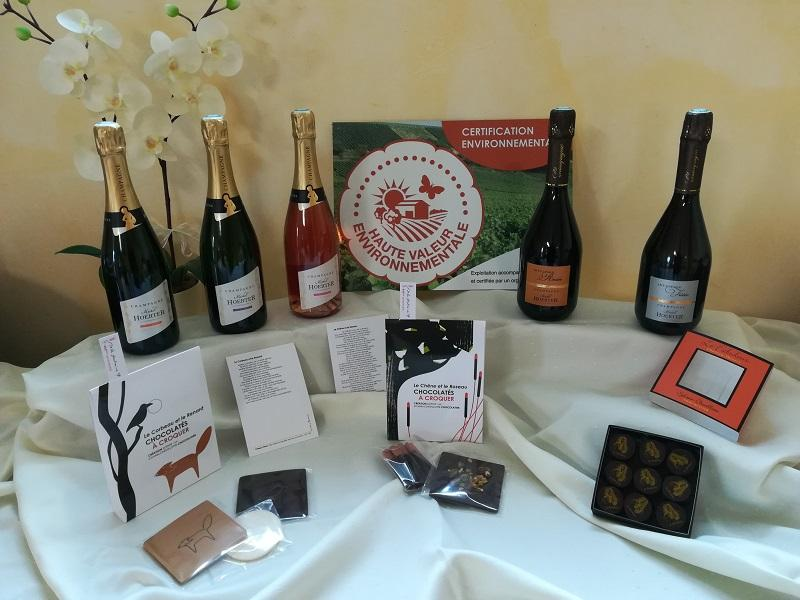 Champagne michel hoerter idee cadeau chocolat sylvain chevillotte 2