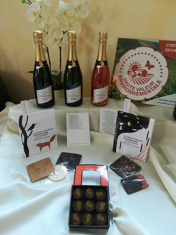 Champagne michel hoerter idee cadeau chocolat sylvain chevillotte 4