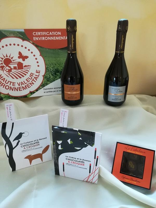 Champagne michel hoerter idee cadeau chocolat sylvain chevillotte 5