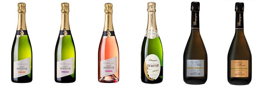 Gamme de Champagne Michel Hoerter